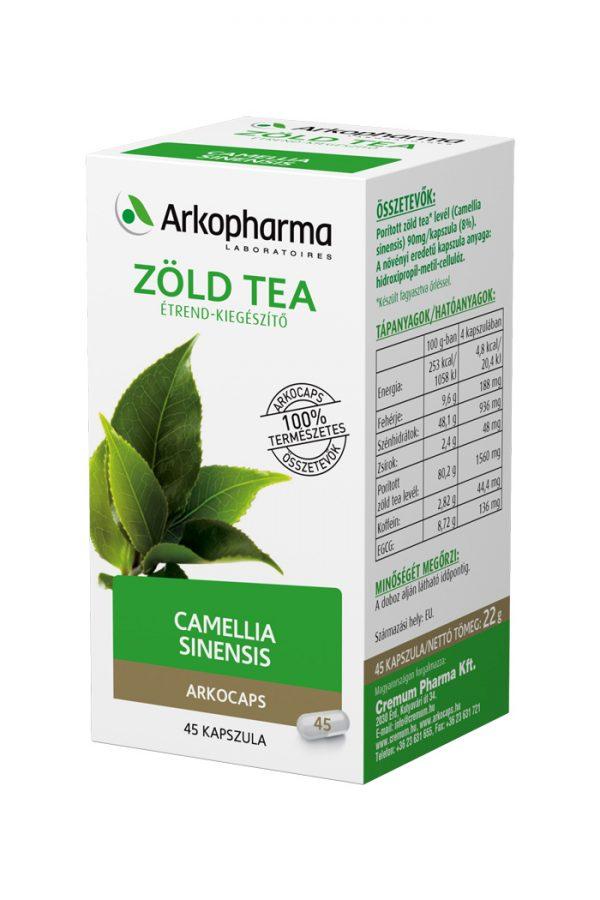 Arcocaps Zöld Tea