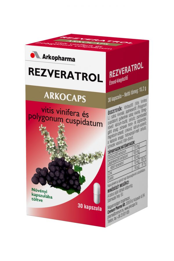 Arkocaps Rezveratrol
