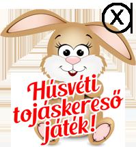 Húsvéti tojáskereső játék
