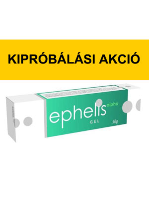 Ephelis alpha gél 50 g - kipróbálási akció